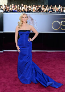Reese Witherspoon Modern Finger Waves Hairstyle Oscars Red Carpet