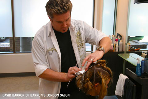 David Barron Allure Hair Makeover Master