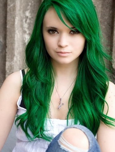 Green Hair Color For St Patrick S Day Think Again By David Barron