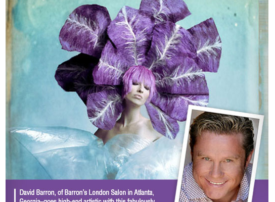 David Barron, owner of Atlanta's Best Hair Salon, NAHA Creation Featured