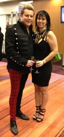 4-10-14 David & Kim at Mirror Awards Cropped