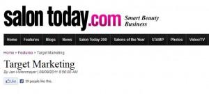 David Barron Talks Marketing with ModernSalon.com