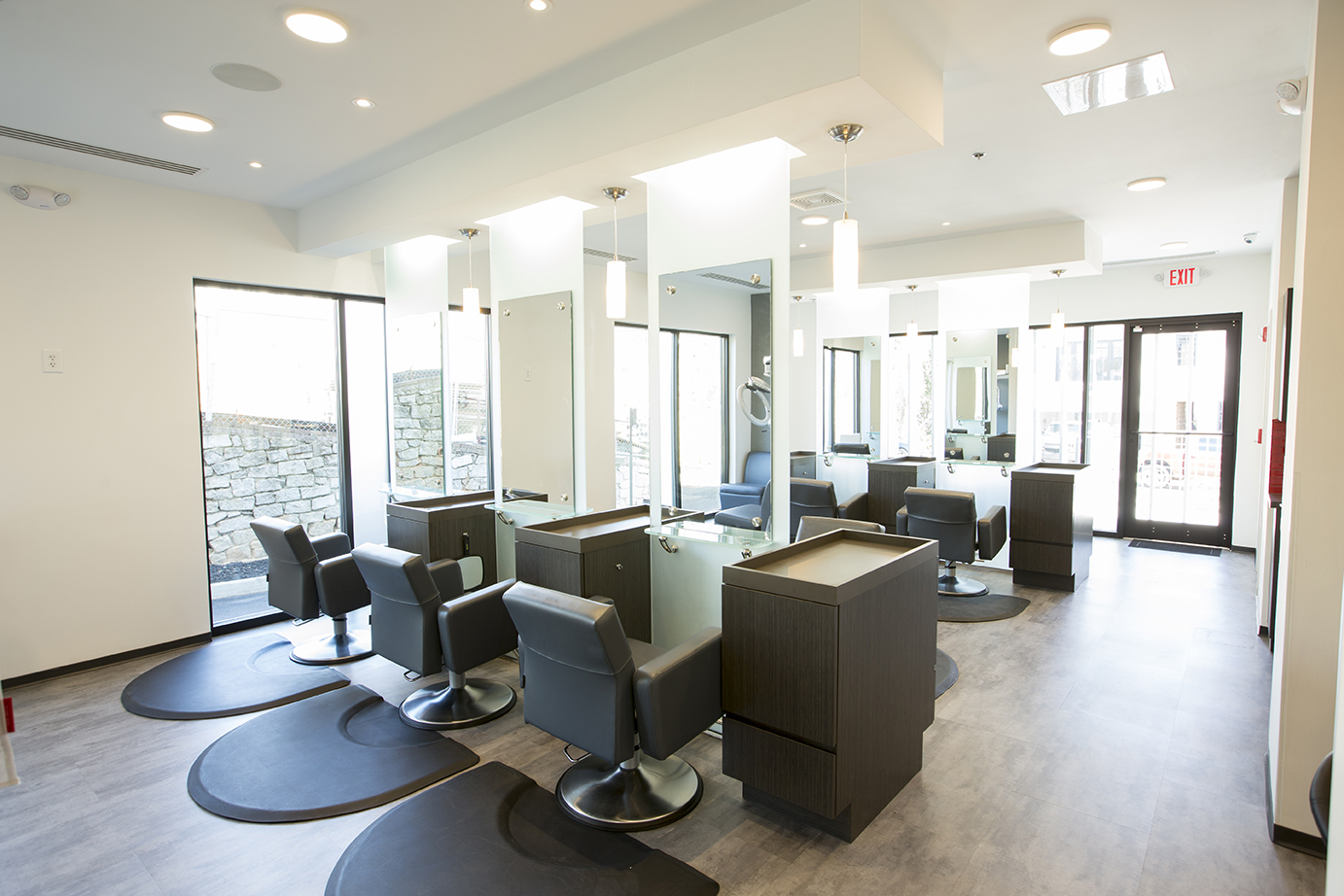 Inside barrons london salon
