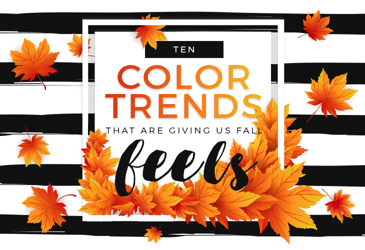 color trends fall graphic