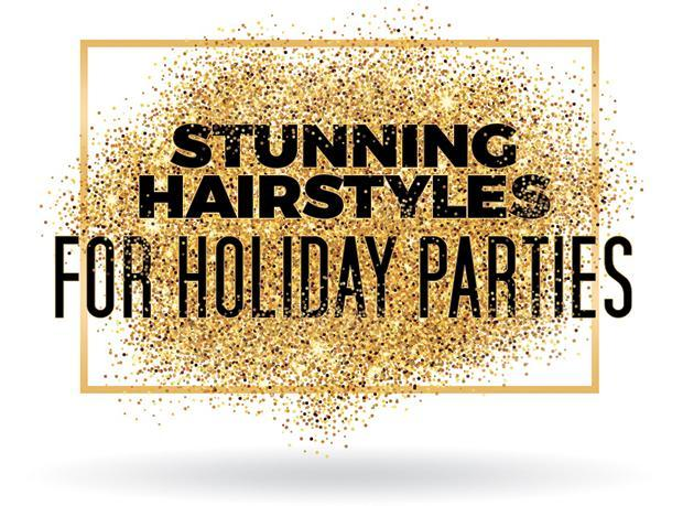Stunning Hairstyles for Holiday Parties
