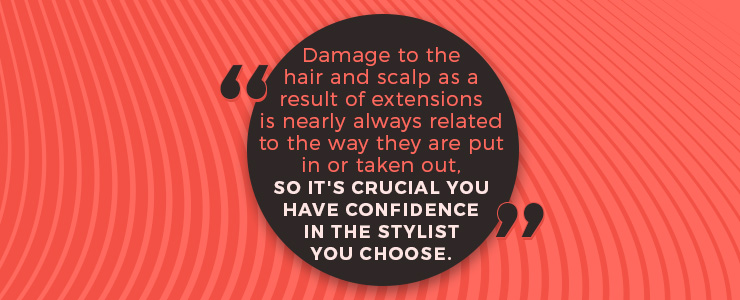 damage hair scalp quote