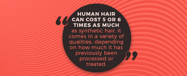 human hair quote