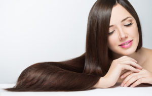 Top Atlanta Hair Salon - woman with long beautiful hair