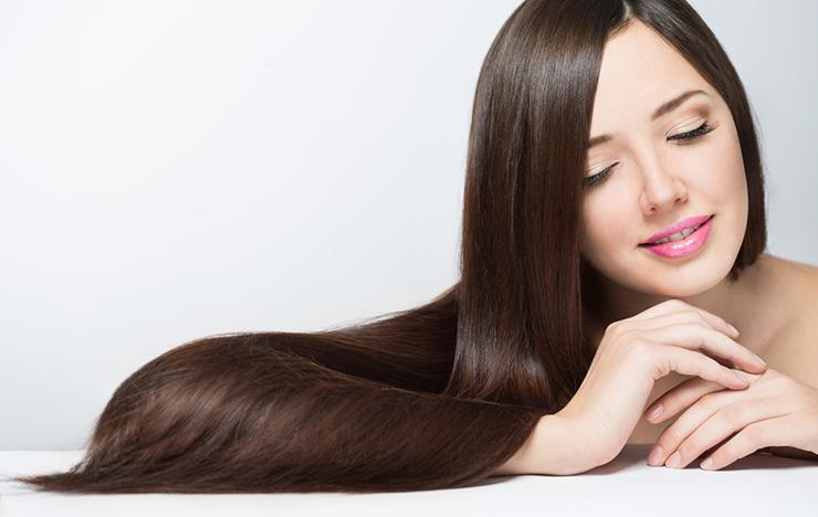 Top Atlanta Hair Salon - woman with long beautiful hair