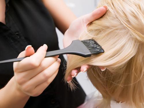 Hair Colorist in a Salon Buckhead Atlanta