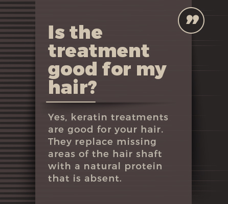 is treatment good for hair graphic