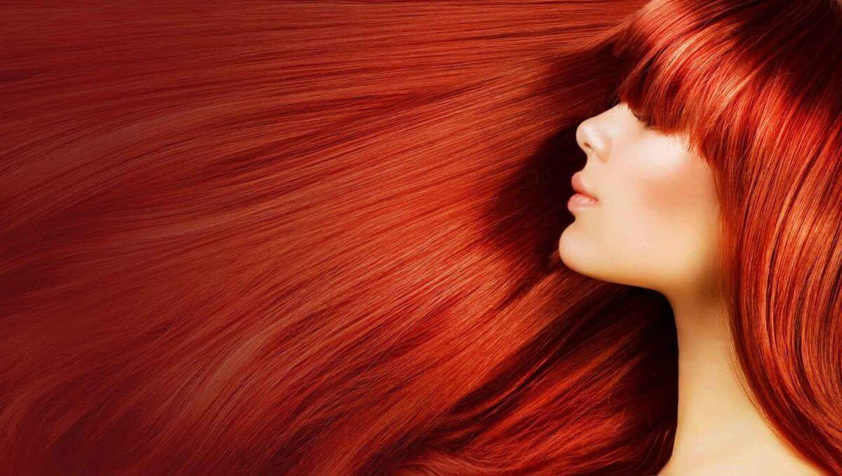 Atlanta Buckhead Hair Salong - Healthy Red Hair Color