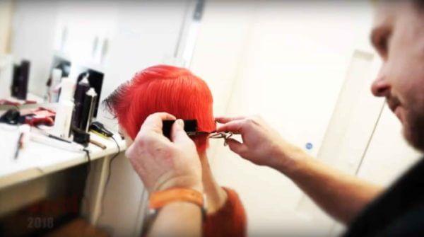 NAHA 2018 David Barron Competition Hair