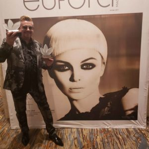 David Barron Stylist of the Year - Team Collaboration - Eufora Global 2019