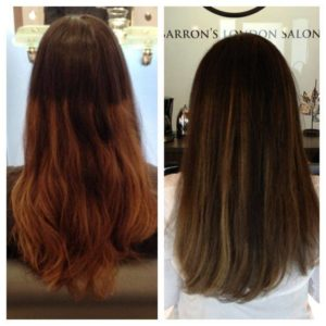 Color Correction Before and After