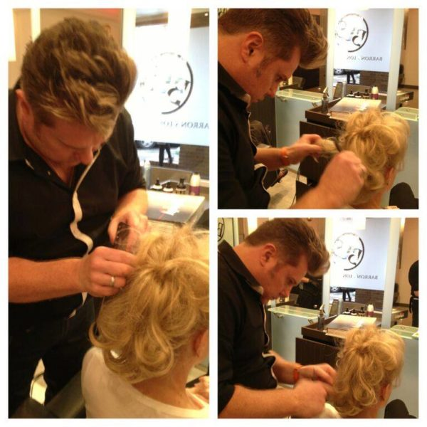 David Barrons Famous Updos Bridal Hair Salon