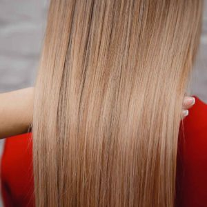 Permanent Hair Straightening Treatments on Blonde Hair