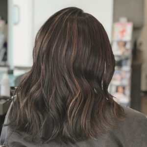 Soft and Subtle Balayage Highlights Atlanta Hair Salon