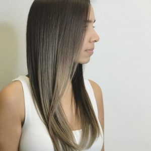 Caramelt Balayage Keune Hair Color and Cut by Ryan