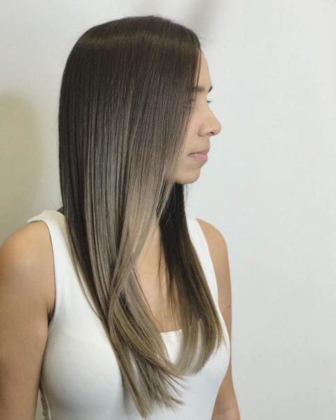 Caramelt Balayage Keune Hair Color and Cut by Ryan
