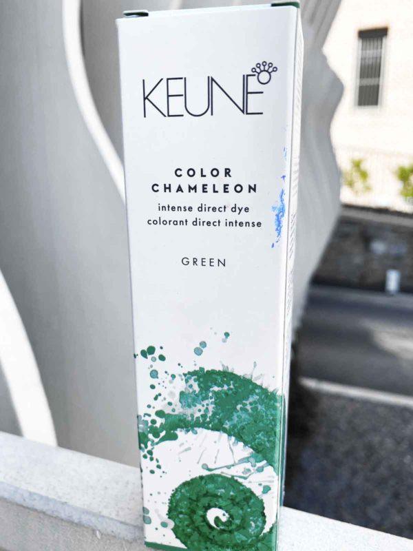 Green Hair Color by Keune Haircosmetics - Color Chameleon