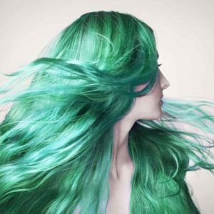 Options for Green Hair Color for St. Patrick's Day