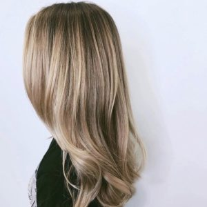 Blonde Balayage Highlights by Hairstylist Ryan