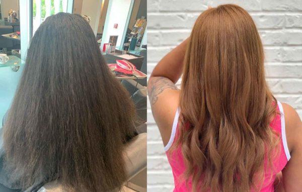 Honey Caramel Hair Color by Hailey