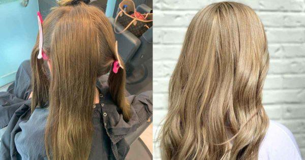 No More Box Haircolor - Before and After Blonde in Buckhead Atlanta
