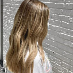 Balayage Blonde by Ryan at our Atlanta Hair Salon