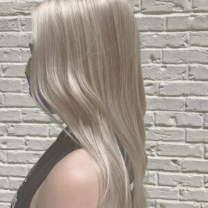 Shimmery Blonde Haircolor - Atlanta Hair Salon