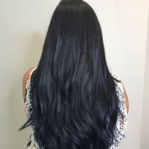 Atlanta Hair Salon Blue Black Hair Color