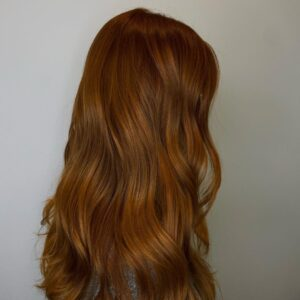 Fall is Coming Red Auburn Haircolor at Buckhead Salon Barrons