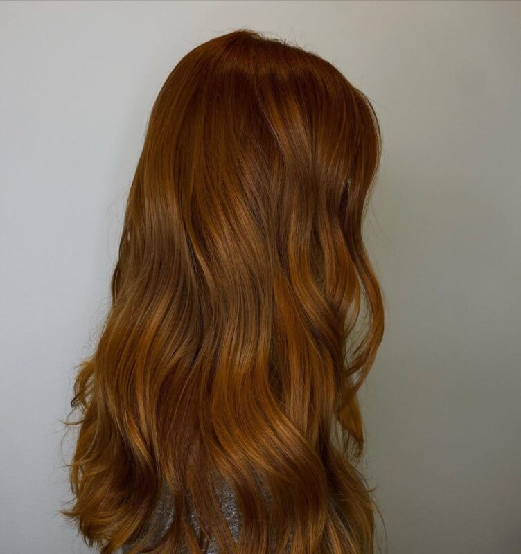 Fall is Coming Red Auburn Haircolor at Buckhead Salon Barrons
