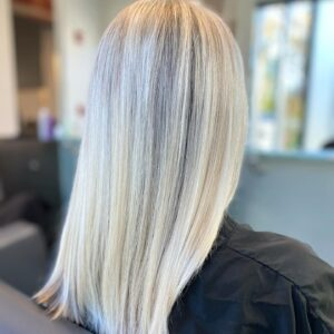 Icy Blonde Haircolor with Keune Haircosmetics