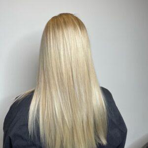 Blonde color correction