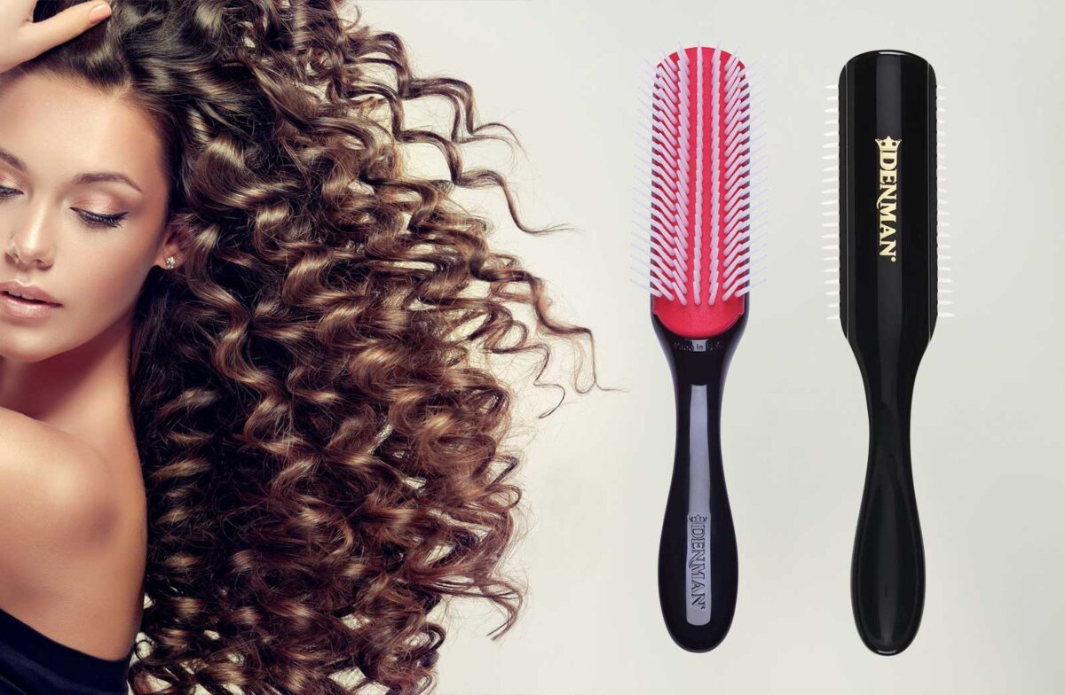Denman Styling Brush D3 D4 For Curly Wavy Hair