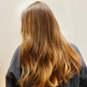 Brunette Auburn Hair