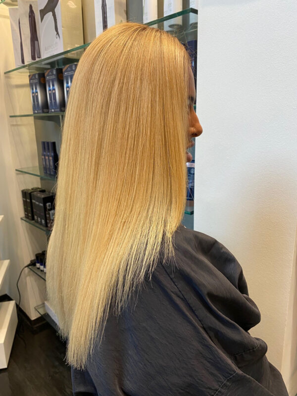 After Corrective Color in our Buckhead Salon