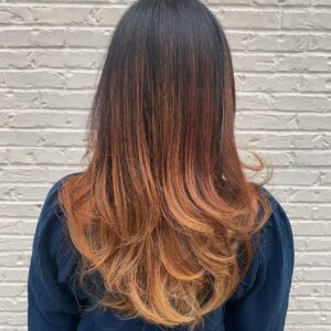 Strawberry Ombre by Brittany in Buckhead